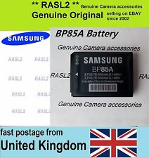 Genuine Original Samsung BP85A Battery WB210 SH100 ST200f ST201f ST205f PL211