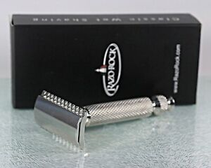 RazoRock Game Changer Open Comb .84-P Double-Edge Razor w/85mm UFO Handle NIB