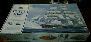 REVELL CUTTY SARK. Large vintage clipper ship. c1974!