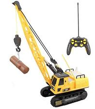 Top Race 12 Channel RC Remote Control Crane tractor with Lights & Sound