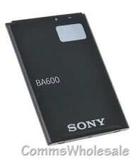 Genuine Sony BA600 1290mAh Battery Xperia U ST25 ST25i - NEW