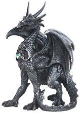 """TERROR in BLACK  Dragon  Statue figurine  H5.88"""""""
