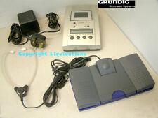 Grundig Stenorette St 3220 Desktop STENO Cassette Complete Work Station Kit