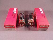 2 6550 RCA Tung-Sol 1970s HiFi Stereo Amp Vintage Vacuum Tubes Codes 7335 NOS