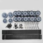 1Set Main Wheels+Drive Wheels+Steering Horn+Track+Guide Wheels Spare Parts For 1