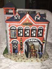 Partylite Olde World Village Tealight House #7 Fire Station