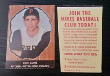 1958 HIRES ROOT BEER #31 RON KLINE