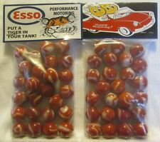 2 Bags Of Esso Gasoline Put A Tiger In Your Tank Promo Marbles