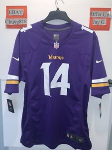 New Nike Minnesota Vikings Stefon Diggs #14 Jersey Purple Men's Sz: L MSRP:$100