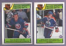 1983-84 OPC O-PEE-CHEE 1982-83 NHL Record Breaker Set