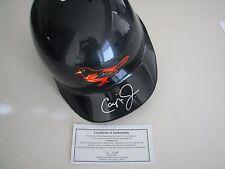 Cal Ripken Jr Autographed Authentic Batting Helmet - COA