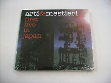 ARTI & MESTIERI - FIRST LIVE IN JAPAN - CD NEW SEALED 2005 DIGIPACK