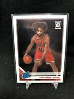 2019-20 Panini Donruss Optic Rated Rookie Coby White RC #180, Chicago Bulls U12