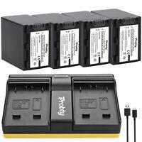 NP-FH100 Battery + Charger For Sony NEX-3DB NEX-3DR NEX-3DS NEX-3DW NEX-3K