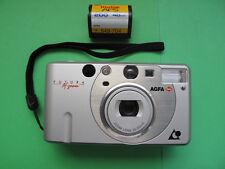 AGFA Futura Af Zoom Lens 25-50 mm APS Kompakt Sucher Kamera silber mit Handschla