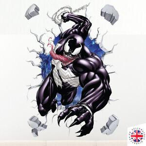 VENOM SUPERHERO SPIDERMAN Wall Sticker Vinyl Decal Mural Poster