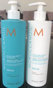 Morrocanoil Moisture Repair Shampoo and Conditioner Duo 500ml each