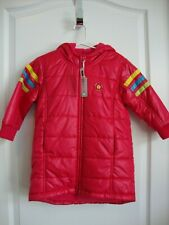 Baby Gap Pink Sporty Puffer Puffy Jacket Coat Girl Size 4 4T 4 years Nwt Winter