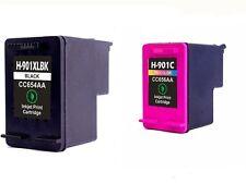 2PK Ink cartridge for HP 901 901XL Officejet J4580 4540 4500 4560 4640 4680 4660