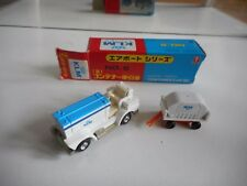"""Bandai Airport Series Container CaR (B)  """"KLM"""" in White/Blue in Box"""