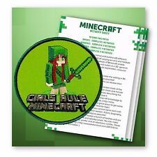 Girl Scout Patch, Game Patch Includes Patch Activity Sheet