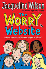 The Worry Website by Jacqueline Wilson (Paperback) New Book