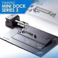 Lenovo Thinkpad T400s T410 T410i X230 T520 T530 Mini Docking Station Series 3