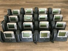 Cisco IP Phone 7960 POE VOIP with handset(Lot of 2)