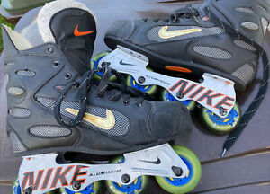 NIKE Hockey Rollerblades Inline Roller Skates sz 12 mens