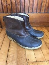 ll bean shearling lined boots 12