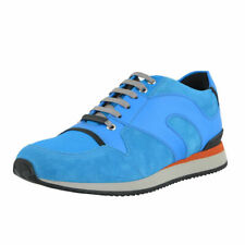 Dior Men's Blue Suede Leather Fashion Sneakers Shoes Sz 6 6.8 7 7.5 8 10 11