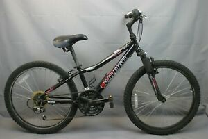 "2002 Raleigh MTN Scout 24"" Kids MTB Bike Small Shimano Grip V-Brakes USA Charity"