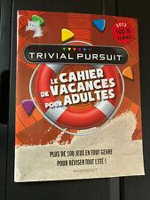 Le Cahier de Vacances pour Adultes Trivial Pursuit French Puzzles