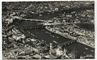 Alte Postkarte - Die Themse bei Westminster
