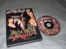 DELTA DELTA DIE Brinke Stevens, Julie Strain, Shepis (DVD, 2013) RARE HTF