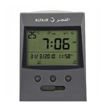 Alfajr Vertical Grey Islamic Muslim Prayer Digital Azan Table Desk Clock CS-03