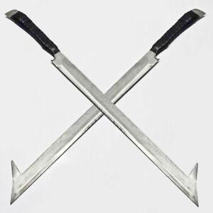 "The Uruk-Hai Scimitar Sword - LOTR 31"" with universal wall plaque"
