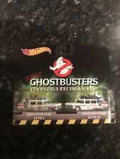 Hot Wheels Ghostbusters Ecto-1 And Ecto-1A Vehicle 2-pack 1st class postage