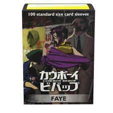 Dragon Shield Classic Art Cowboy Bebop Faye Standard Size 100 ct Card Sleeves In