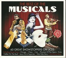 THE BEST OF THE MUSICALS 60 GREAT SHOW STOPPERS Inc, CHICAGO, CATS. EVITA & MORE