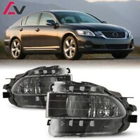 06-11 For Lexus GS Clear Lens Pair Bumper Fog Light Lamp OE Replacement DOT Bulb