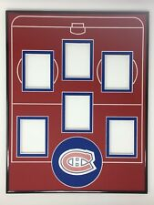 Montreal Canadiens Starting Line Up Frame for Rare 1/1 Cards