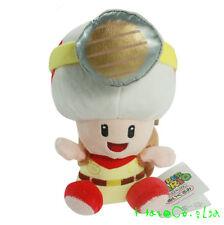 Super Mario Bros Mushroom Plush Toy Cuddly Nintendo Stuffed Animal Doll ZZZ*