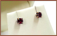 NEW PILGRIM DENMARK GOLD EARRINGS SMALL RED CRYSTALS 0.3 CM' STUD Hypoallergenic