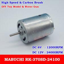 MABUCHI RK-370SD-24100 DC6V-12V 24000RPM High Speed Mini 370 Motor DIY Toy Model