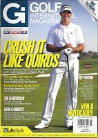 Golf International Magazine Alvaro Quiros Denis Pugh Barry Hearn Rory Mcilroy