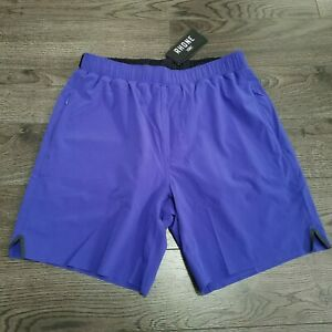 """RHONE 7"""" Swift Lined Running Shorts Mens SMALL Royal Blue Training Gym Workout"""