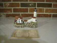 2007 Harbour Lights Lighthouse #347 Isle Of Shoals, New Hampshire-Signed