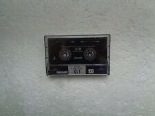 Vintage Audio Cassette MAXELL XL I 100 * Rare US Market 1992 * Unsealed