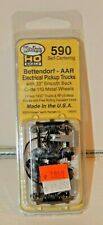 "HO Scale - Kadee 590 Bettendorf AAR Electrical Pickup Caboose Trucks 33"" Wheels"